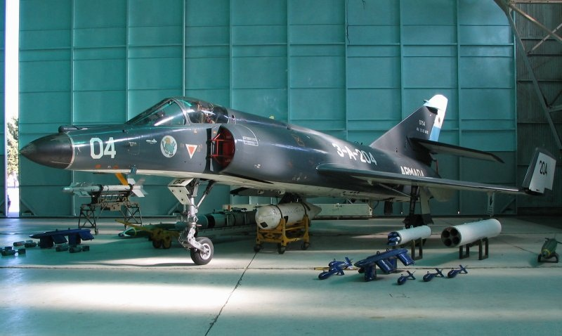 Myśliwiec Dassault-Breguet Super Étendard. Źródło: Wikimedia Commons, licencja: CC BY 2.5