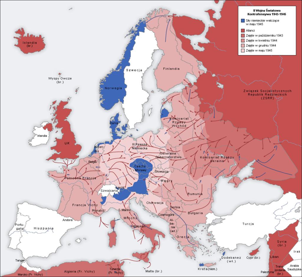II wojna światowa w Europie